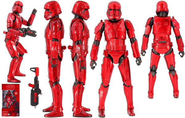 Sith Trooper (92) (Carbonized) - The Black Series [Phase III]
