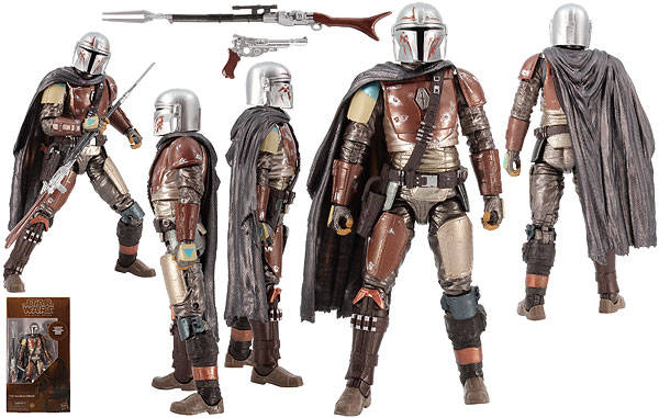 The Mandalorian (94) (Carbonized) - The Black Series [Phase III]