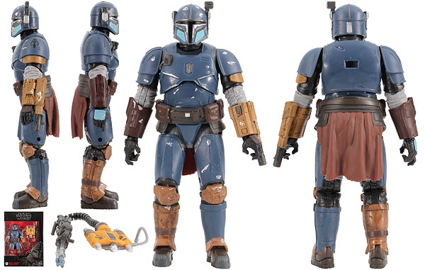 Heavy Infantry Mandalorian (D2) - The Black Series [Phase III]