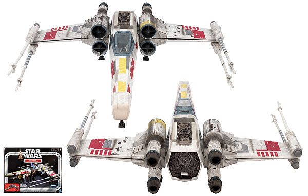 Luke Skywalker's X-Wing Fighter - The Vintage Collection