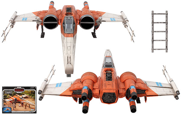 Poe Dameron's X-Wing Fighter - The Vintage Collection