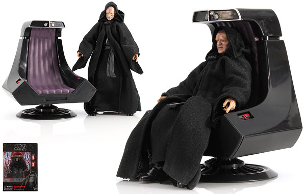 Emperor Palpatine And Throne - The Black Series [Phase III] (Amazon Exclusive)