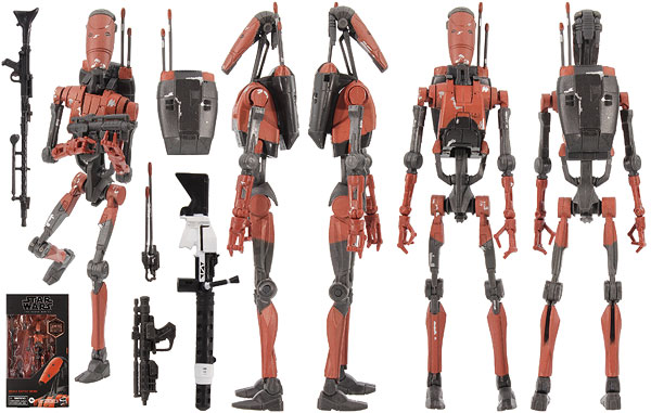 Heavy Battle Droid (Gaming Greats) - The Black Series [Phase III]
