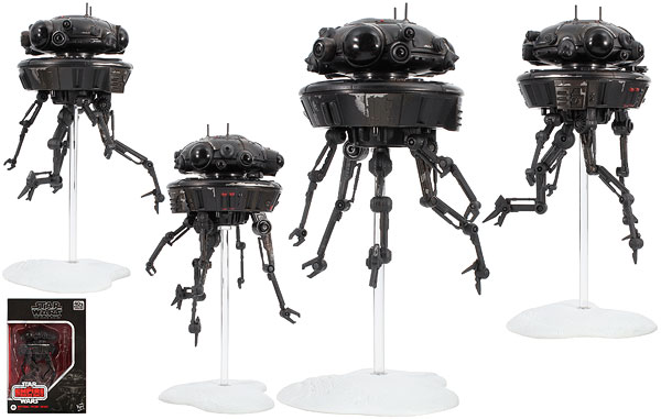 Imperial Probe Droid (D3) - The Black Series [Phase III]