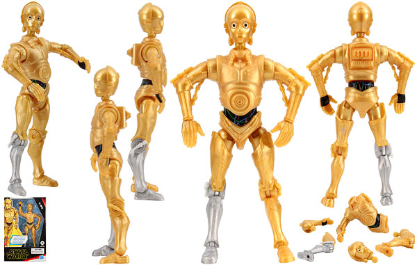 C-3PO - The Rise of Skywalker (Galaxy of Adventures) - 5-Inch Figures