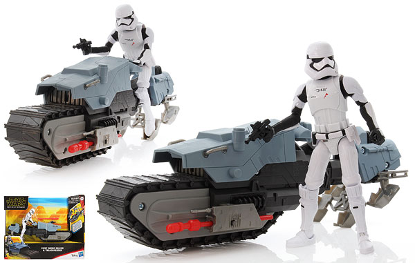 First Order Driver & Treadspeeder - The Rise of Skywalker (Galaxy of Adventures) - 5-Inch Figures