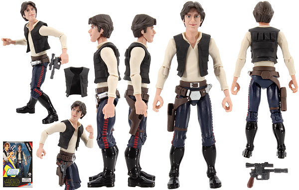 Han Solo - The Rise of Skywalker (Galaxy of Adventures) - 5-Inch Figures