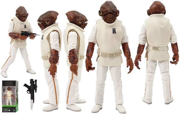 Admiral Ackbar (ROTJ01) - The Black Series