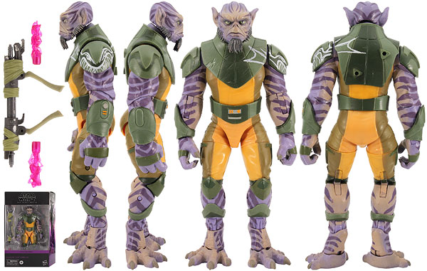 Garazeb 'Zeb' Orrelios (Star Wars Rebels 01) - The Black Series