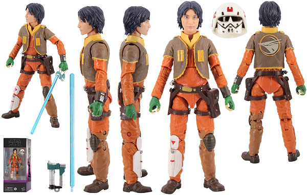 Ezra Bridger (Star Wars Rebels 03) - The Black Series
