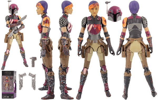 Sabine Wren (Star Wars Rebels 06) - The Black Series
