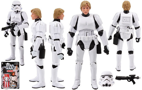 Luke Skywalker (Stormtrooper) (VC169) - The Vintage Collection