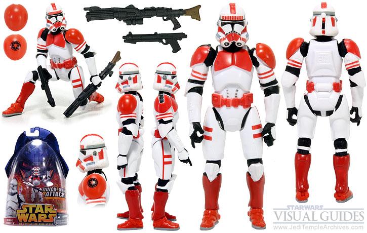 Clone Trooper (Quick Draw Action!) - Shock Trooper