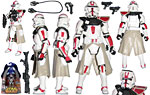 Clone Commander (Battle Gear!) - Hasbro - Revenge of the Sith (2005)