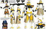 Commander Bly (Battle Gear!) - Hasbro - ROTS (2005)