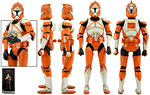 Bomb Squad Clone Trooper (Ordnance Specialist) - Sideshow Collectibles - 1:6 Scale Figures (2015)