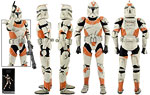 Clone Trooper Deluxe (212th Attack Battalion) - Sideshow Collectibles - 1:6 Scale Figures (2014)