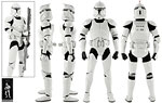 Clone Trooper Deluxe (Shiny) - Sideshow Collectibles - 1:6 Scale Figures (2014)