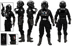 Imperial TIE Fighter Pilot - Sideshow Collectibles - 1:6 Scale Figures (2015)
