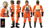 Luke Skywalker (Red Five X-wing Pilot) - Sideshow Collectibles - 1:6 Scale Figures (2015)