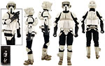 Scout Trooper - Sideshow Collectibles - 1:6 Scale Figures (2015)