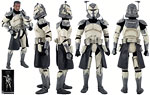 Clone Commander Wolffe (104th Battalion) - Sideshow Collectibles - 1:6 Scale Figures (2014)