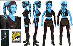 Aayla Secura (Jedi Master) (SDCC 2008) - Sideshow Collectibles - 1:6 Scale Figures (2008)