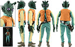 Greedo (Bounty Hunter) - Sideshow Collectibles - 1:6 Scale Figures (2010)