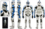 Republic Clone Lieutenant (Phase I Armor) (SDCC 2010) - Sideshow Collectibles - 1:6 Scale Figures (2010)
