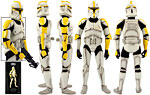 Clone Commander (Phase I) (SDCC 2011) - Sideshow Collectibles - 1:6 Scale Figures (2011)