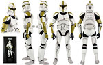 Clone Sergeant (Phase I Armor) - Sideshow Collectibles - 1:6 Scale Figures (2011)