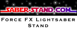 Force FX Lightsaber Stands