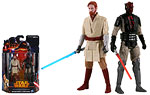 Obi-Wan Kenobi and Darth Maul (Mandalore) (MS06) - Hasbro - Star Wars [Darth Vader/Revenge of the Sith] (2013)