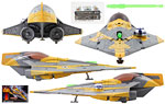 Anakin's Jedi Starfighter�[Coruscant] - Hasbro - Star Wars [Darth Vader/Revenge of the Sith] (2014)