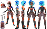 Sabine Wren - Hasbro - Forces of Destiny (2017)