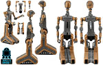 FA-4 (Count Dooku�s Pilot Droid) (Build A Droid) - Hasbro - Legacy Collection [2] (2015)