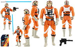 Luke Skywalker (In X-wing Fighter Pilot Gear) - Hasbro - The Power of the Force [Red] (1995)