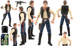 Han Solo - Hasbro - The Power of the Force [FlashBack/CommTech] (1999)