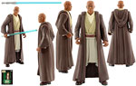 Mace Windu (Episode I Sneak Preview) (Mail-Away) - Hasbro - The Power of the Force [FlashBack/CommTech] (1998)