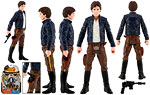 Han Solo (SL24) [Bespin Outfit] - Hasbro - Rebels (2015)