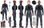 Sergeant Jyn Erso [Imperial Ground Crew Disguise] - Hasbro - Rogue One (2017)