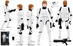 Luke Skywalker (#12) [Stormtrooper Disguise] - Hasbro - The Black Series [Phase II] (2015)