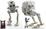 Imperial AT-ST Walker and Imperial AT-ST Driver (Walmart) - Hasbro - The Black Series [Phase III] (2017)
