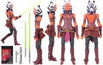 Ahsoka Tano - Hasbro - The Black Series [Phase III] (2016)