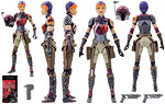 Sabine Wren (33) [Fan's Choice] - Hasbro - The Black Series [Phase III] (2016)