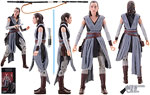Rey (Jedi Training) (44) - Hasbro - The Black Series [Phase III] (2017)