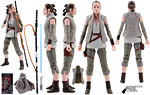 Rey (Island Journey) (58) - Hasbro - The Black Series [Phase III] (2018)