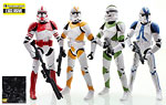 Clone Trooper 4-Pack (Entertainment Earth) - Hasbro - The Black Series [Phase III] (2016)