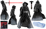 Kylo Ren (Starkiller Base) (Kmart) - Hasbro - The Black Series [Phase III] (2015)