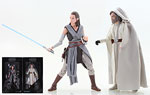 Rey (Jedi Training) / Luke Skywalker (Jedi Master) (SDCC 2017) - Hasbro - The Black Series [Phase III] (2017)